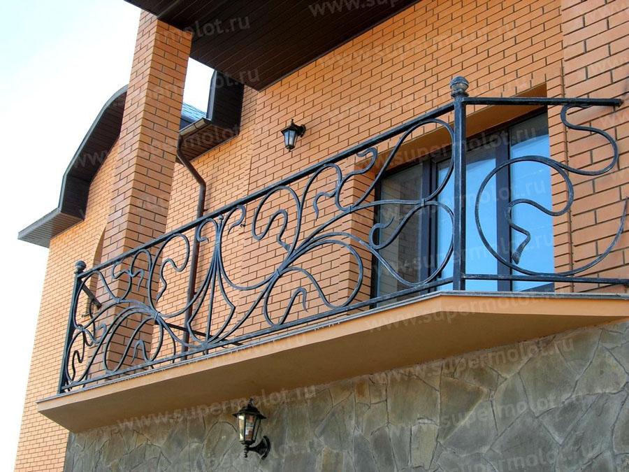 Кованые балконы и ограждения по ценам от 6000 руб. п.м. купи.