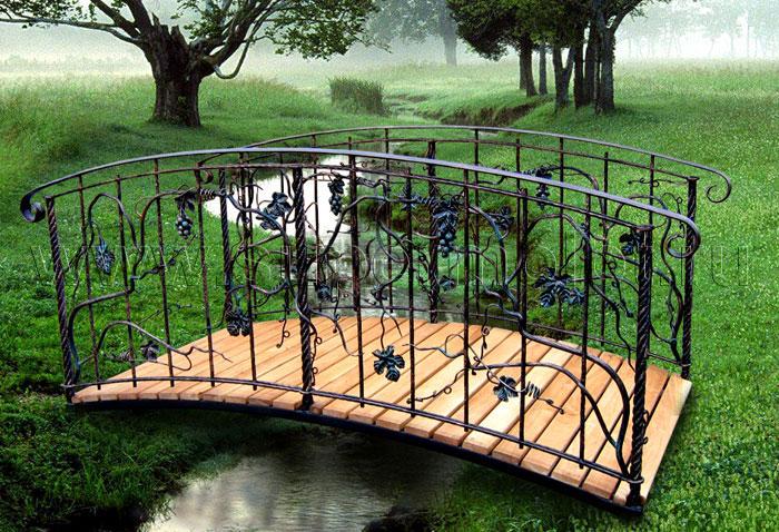 Кованые мостики: фото и цены Купить мостик в